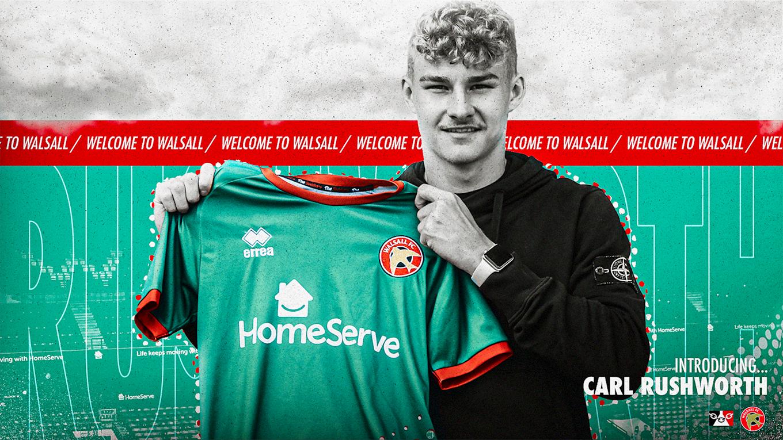 Carl Rushworth joins on loan.