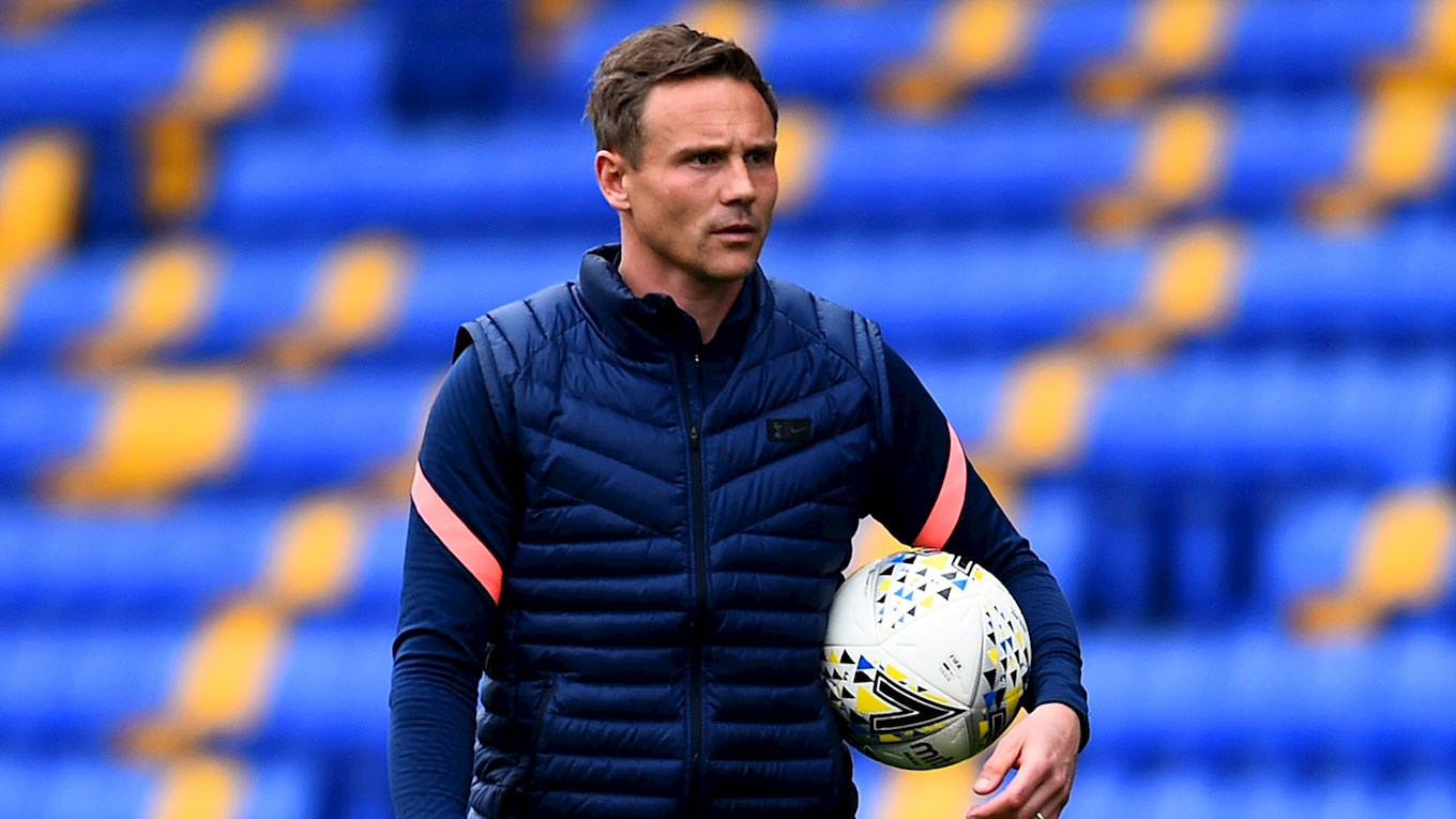 Matthew Taylor happy to work with Walsall coaching duo.