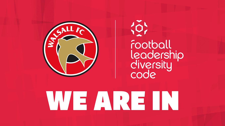 The FA has launced the 'Football Leadership Diversity Code'
