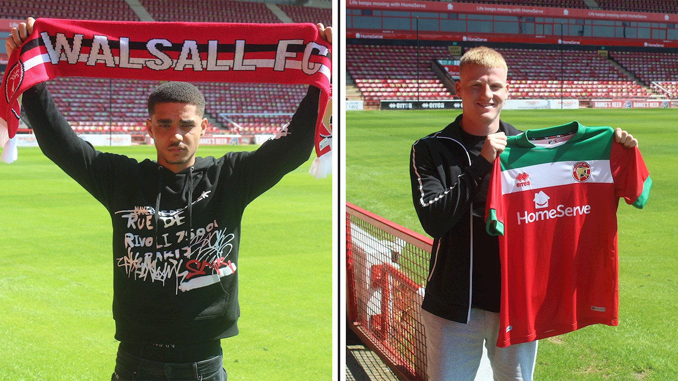 Danny Coogan and Joe Foulkes have penned their first deals.