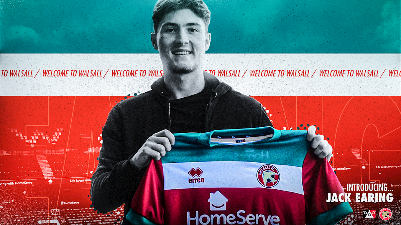 Jack Earing to sign for the Saddlers.