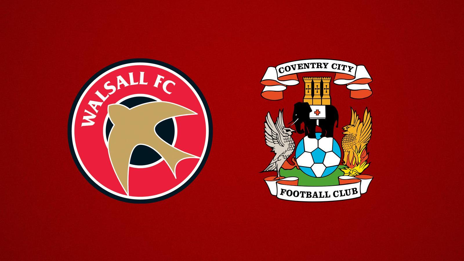 Match Preview: v Coventry City (H)