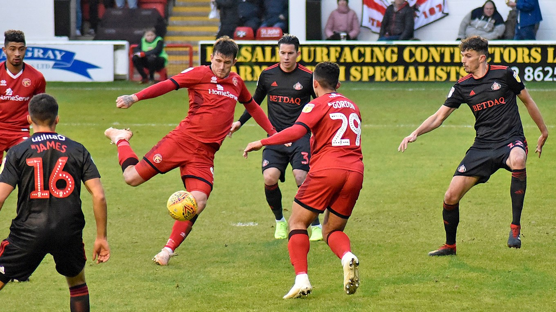 Walsall 2 2 Sunderland News Walsall Fc