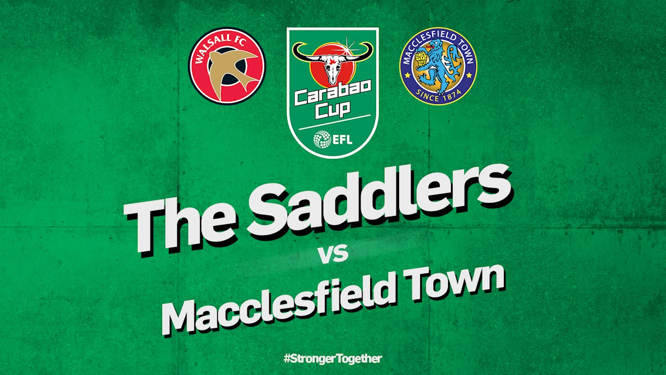 Carabao Cup: Macclesfield Town Date & Ticket Prices Confirmed