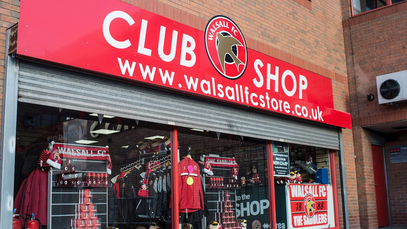 The Club Shop to reopen.