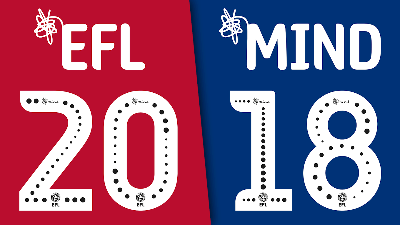 Mind Logo to Feature on EFL Shirts Next Season