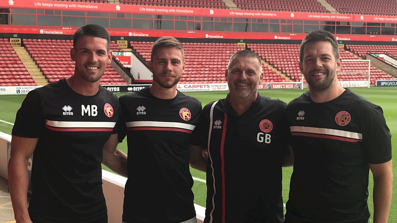 Fryatt, Bradley, & Bowerman Named New Walsall FC Academy Coaches