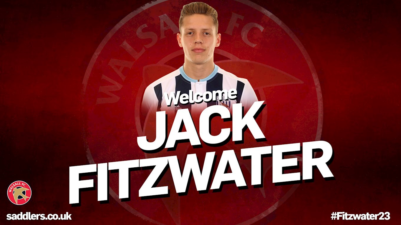 Whitney Welcomes West Brom Defender Jack Fitzwater to the Club