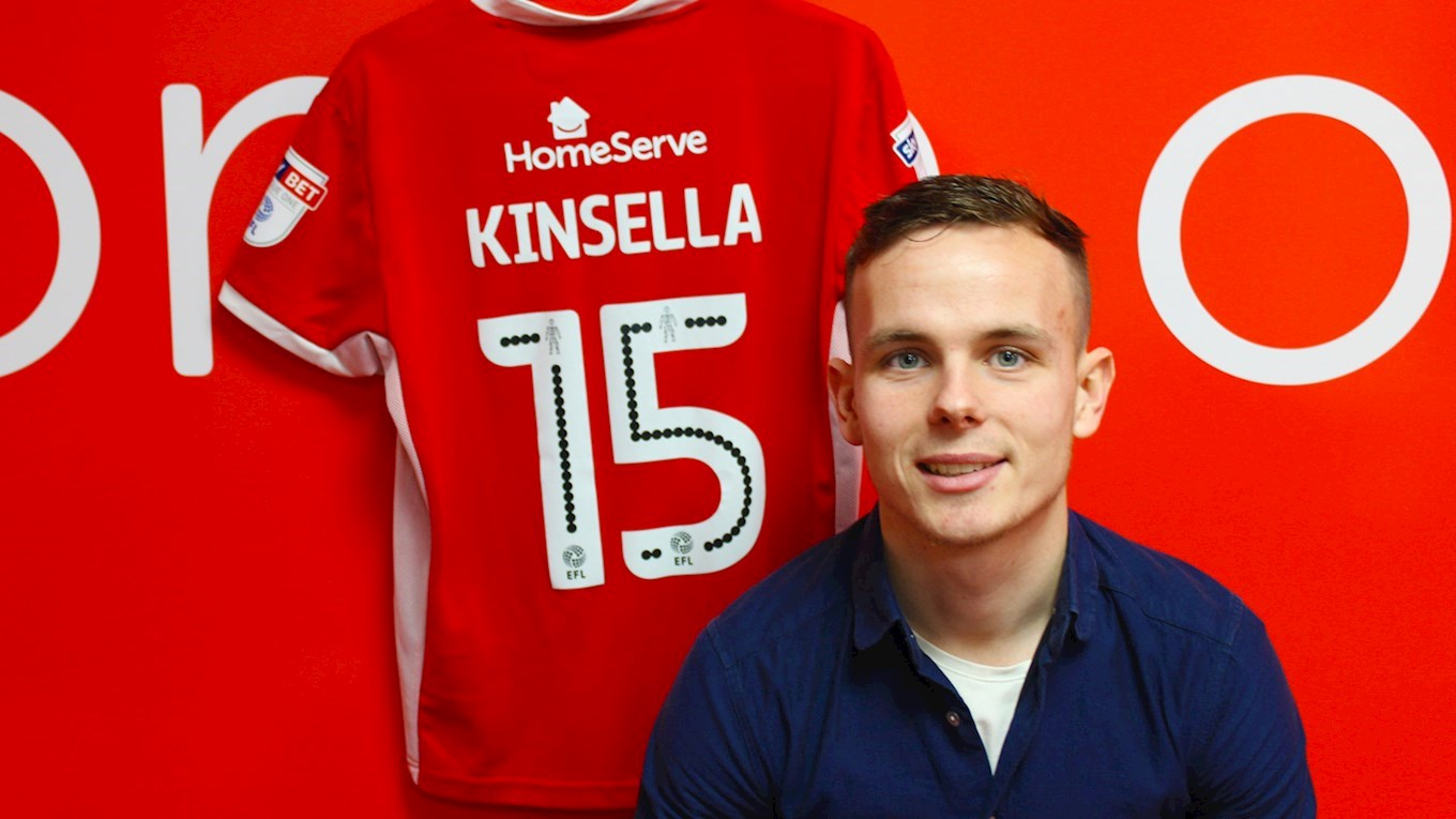 Kinsella Delighted to Extend His Saddlers Stay