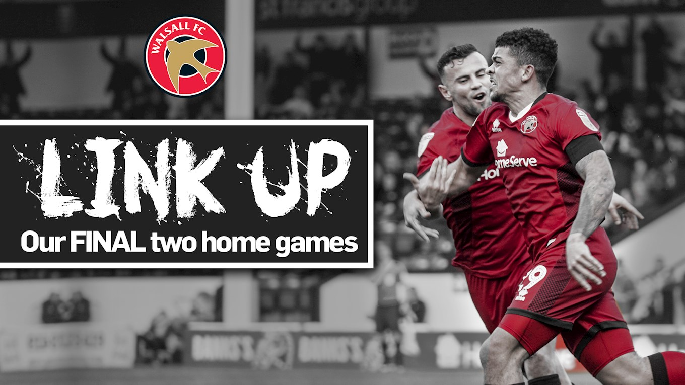 Watch Walsall's Final Two Home Games of the Season For Just £20!