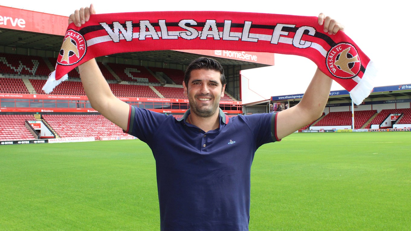 Miguel Llera Named as Walsall's New Academy Manager