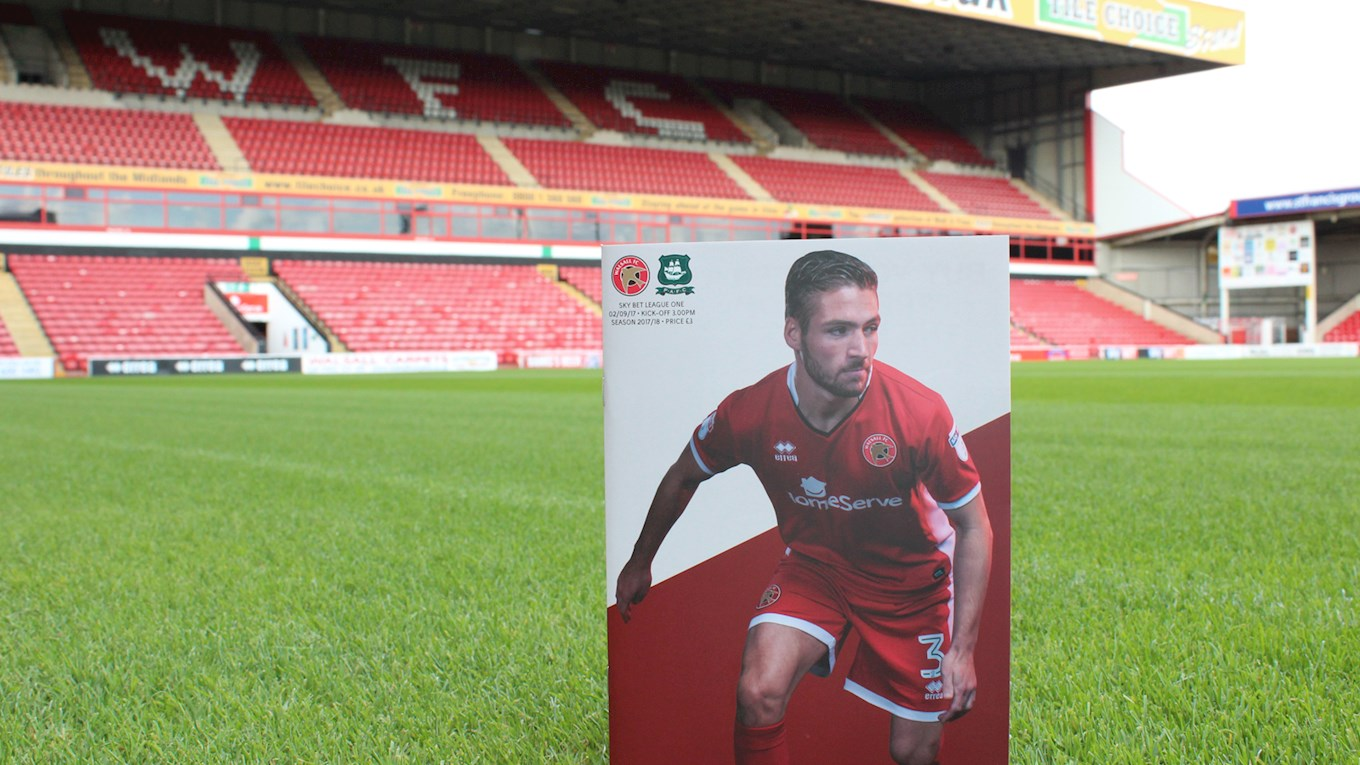 Walsall V Plymouth Programmes Now On Sale News Walsall Fc