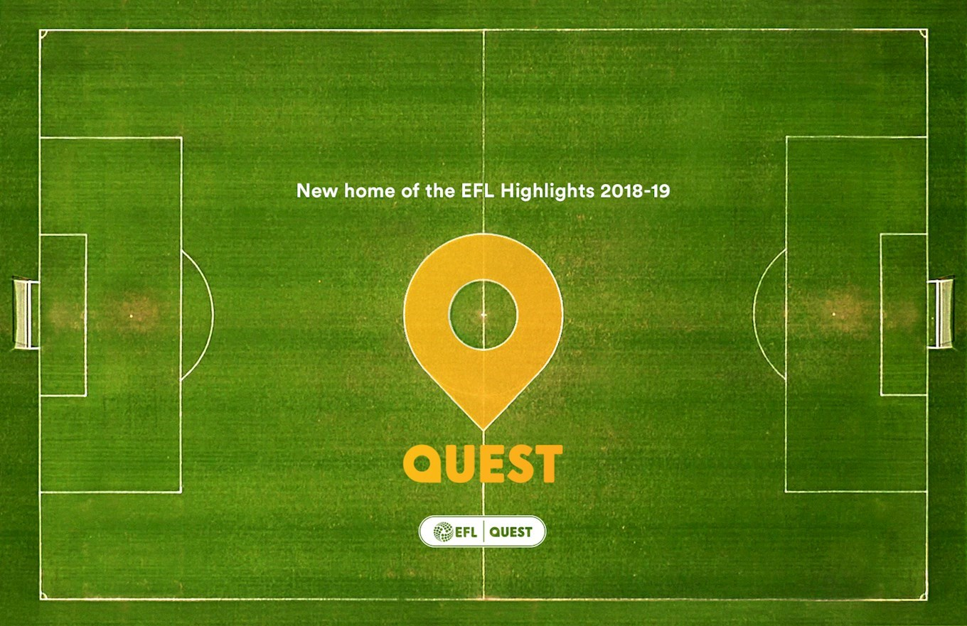 Quest Confirmed as the New Home of EFL Highlights