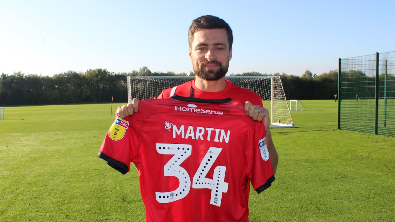 Martin a 'Man of His Word' as Defender Keeps Promise to Sign For Walsall