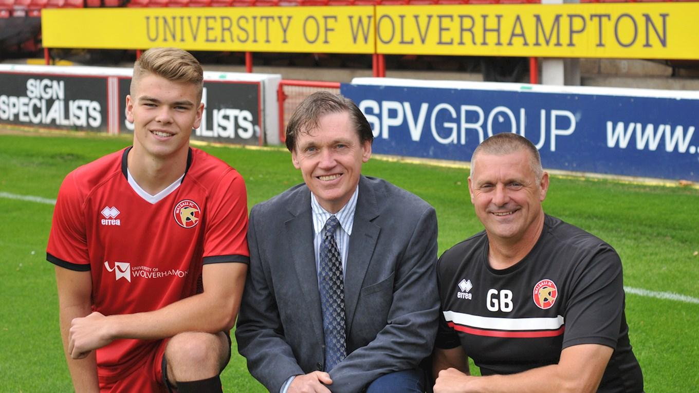 University of Wolverhampton to Sponsor Walsall's Academy