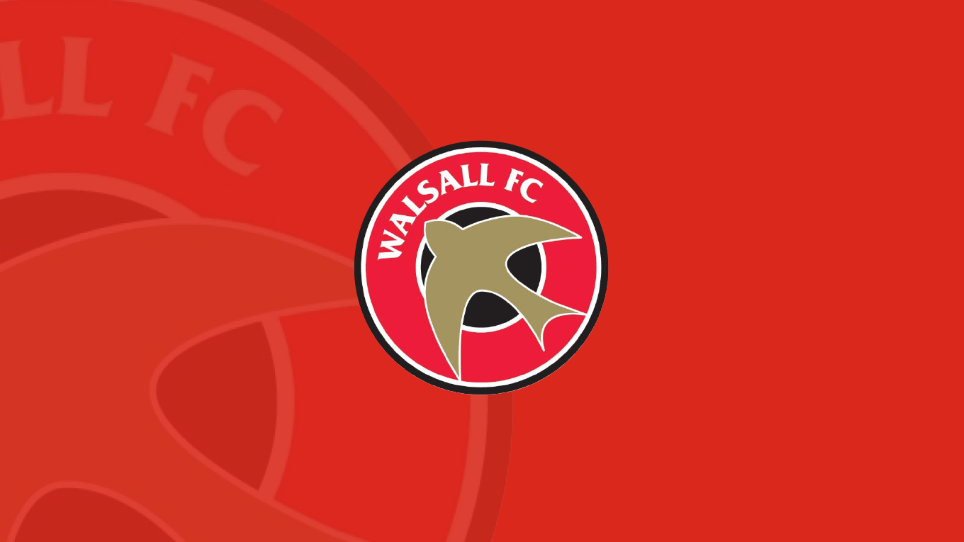 Walsall's 2018/19 Squad Numbers Have Been Confirmed